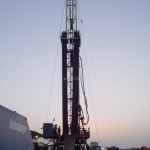 Rig-at-sunset