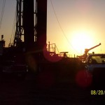 Well-site-at-Sunset